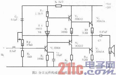otl音频功率放大电路设计-电子网