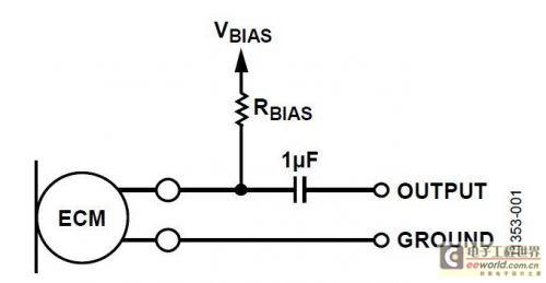 在双线式麦克风电路中使用mems麦克风