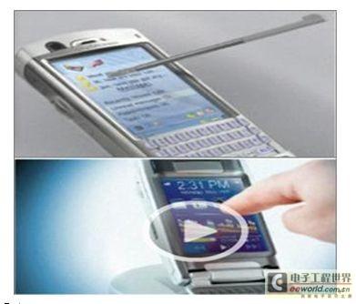 不像电容式和电感式触摸屏技术,需要在印刷电路板上设计电极或线圈